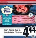 Piller's Breakfast Bacon 250 g