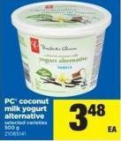 PC Coconut Milk Yogurt Alternative - 500 g