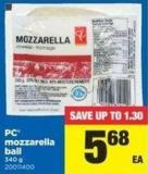 PC Mozzarella Ball