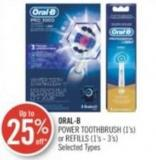 Oral-b  Power Toothbrush (1's) or Refills (1's - 3's)