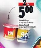 Yoplait Minigo 6 X 60 g