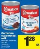 Carnation Evaporated - 354 mL