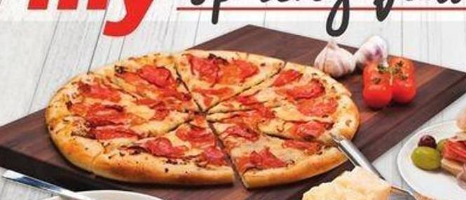 Fresh 2 Go Stone Baked Italian Meat Lovers Pizza 8 Slices