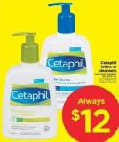 Cetaphil Lotion Or Cleansers - 50-500 mL