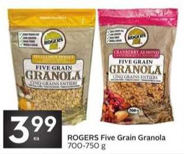 Rogers Five Grain Granola