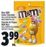 Mars M&M Easter Chocolate 200 g