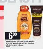 Garnier Nutrisse Hair Colour Or Marc Anthony Or Garnier Whole Blends Hair Care Or Styling