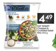 Eat Smart Chopped & Crumbled Salad Kits