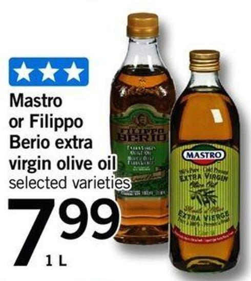 Mastro Or Filippo Berio Extra Virgin Olive Oil - 1 L