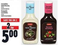 Irresistibles Salad Dressing 475 ml