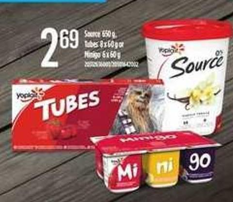 Source 650 G - Tubes 8 X 60 G Or Minigo 6 X 60 G