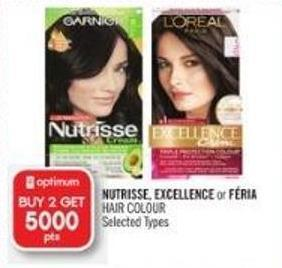 Nutrisse - Excellence or Féria  Hair Colour
