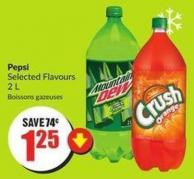 Pepsi Selected Flavours 2 L