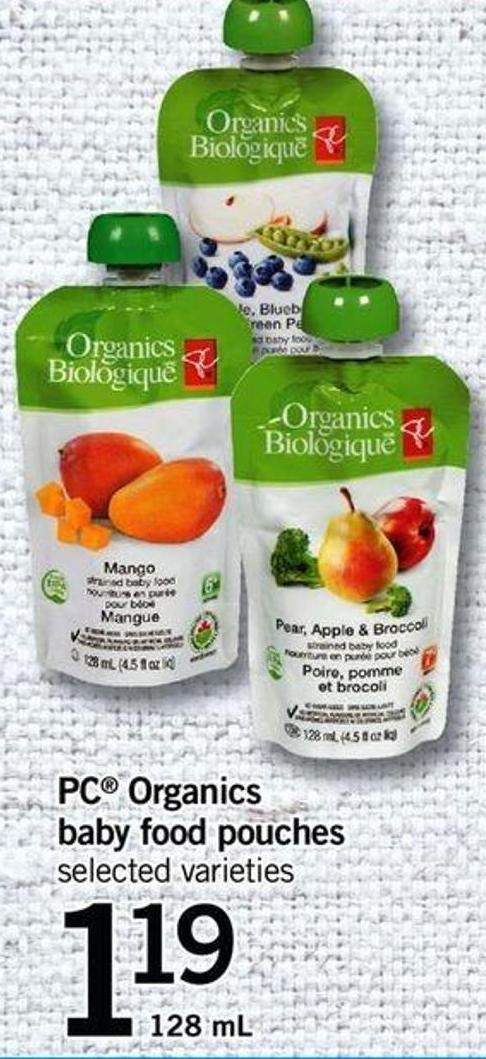 Organic Baby Food Pouches Sale