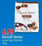 Russell Stover Gusset Bag Chocolate 400g