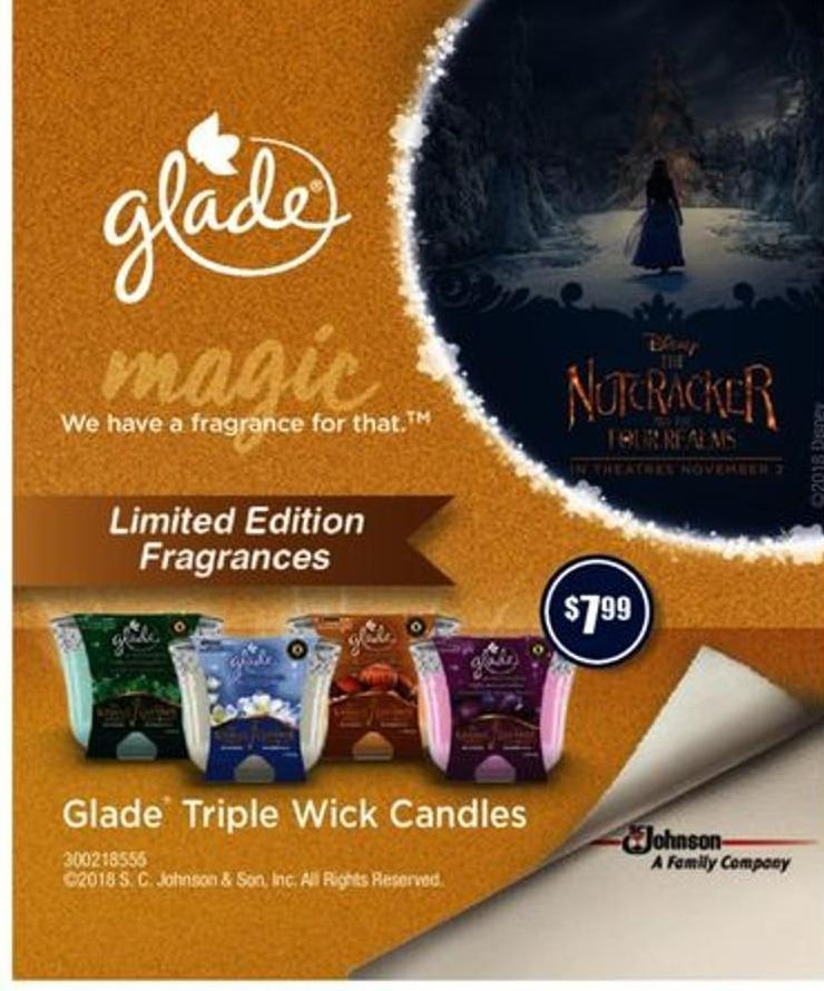 Glade Triple Wick Candles