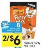 Purina Friskies Party Mix 170 g - 8 Air Miles Bonus