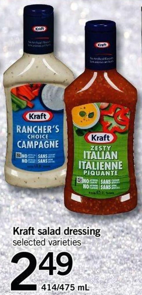 Kraft Salad Dressing - 414/475 mL