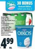 Danone Oïkos Greek Yopro Skyr Or Activia Probiotic Drinks
