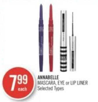 Annabelle Mascara - Eye or Lip Liner