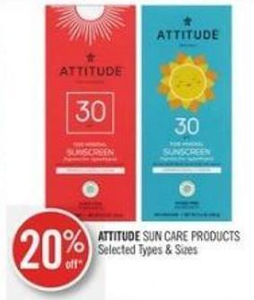 Attitude Sun Care Products