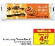 Armstrong Cheese Block