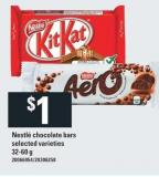 Nestlé Chocolate Bars - 32-60 g
