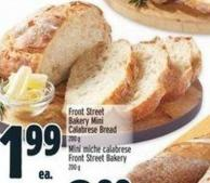 Front Street Bakery Mini Calabrese Bread