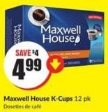 Maxwell House K-cups 12 Pk