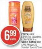 L'oréal Hair Expertise Shampoo - Conditioner or Whole Blends Hair Care Products