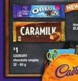 Cadbury Chocolate Singles