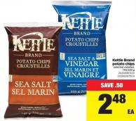 Kettle Brand Potato Chips - 170-220 g