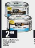 Clover Leaf White Tuna 142/170 g