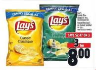 Lay's Family Size Chips | Croustilles Lay's En Format Familial