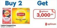 Lipton Bagged Tea - 15-100's