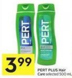 Pert Plus Hair Care Selected 500 mL