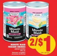 Minute Maid Frozen Drinks - 295 mL