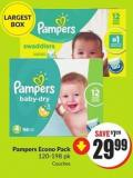 Pampers Econo Pack 120-198 Pk