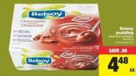 Belsoy Pudding - 4x125 g