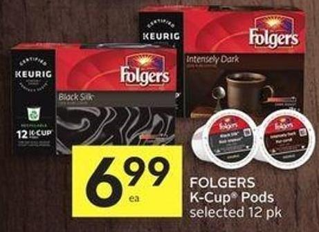 Folgers K-cup Pods Selected 12 Pk - 50 Air Miles Bonus Miles!