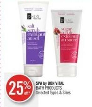 Spa By Bon Vital Bath Products