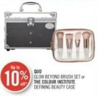 Quo Glow Beyond Brush Set or The Colour Institute Defining Beauty Case