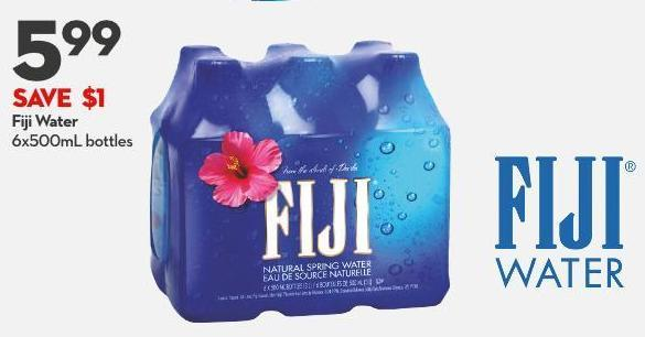 Fiji Water 6x500ml