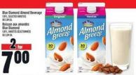 Blue Diamond Almond Beverage 1.89 L