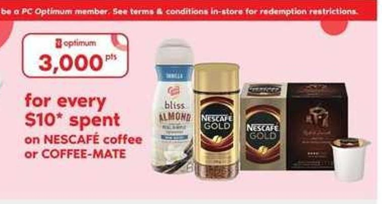 Nescafé Coffee Or Coffee-mate
