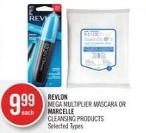 Revlon Mega Multiplier Mascara Or Marcelle Cleansing Products