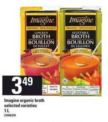 Imagine Organic Broth - 1 L