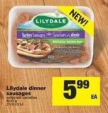 Lilydale Dinner Sausages - 600 g