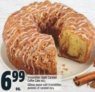 Irresistibles Apple Caramel Coffee Cake 850 g