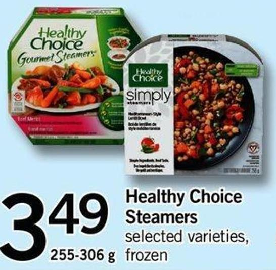 Healthy Choice Steamers - 255-306 G
